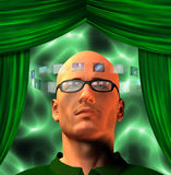 As imagens cercam equipam a cabeça Fotos de Stock Royalty Free