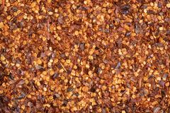 CRUSHED CHILLI: SOME LIKE IT HOTTER 01 royalty free stock image