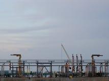 As instalações portuárias em Montreal fotografia de stock royalty free