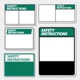 as instruções de segurança do símbolo assinam a etiqueta no fundo transparente ilustração do vetor