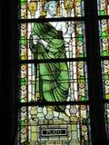 As janelas de vitral podem representar figuras históricas Imagem de Stock