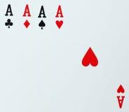 As karta do gry grzebak Obraz Royalty Free