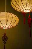 As lâmpadas pelo ano do galo Fotos de Stock Royalty Free