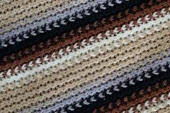 As lãs texture, linhas diagonais Foto de Stock Royalty Free