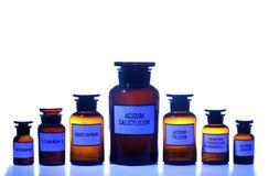 As latas farmacêuticas ajustaram-se (2) fotografia de stock royalty free