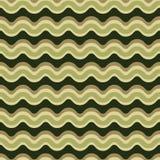As linhas curvadas modelam o teste padrão sem emenda do vetor Textura ondulada das listras ilustração do vetor