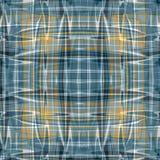 As linhas e as ondas abstratas coloridas bonitas em um fundo escuro vector a ilustração Imagens de Stock