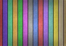 As listras coloridos de Grunge recicl o ofício de papel Imagem de Stock