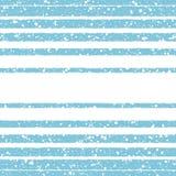 As listras e espirram o teste padrão sem emenda do vetor do inverno Imagens de Stock