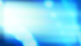 As luzes brilhantes azuis abstraem o conceito colorido do fundo da introdução video estoque