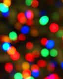 As luzes coloridas borraram Foto de Stock Royalty Free