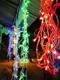 As luzes comemoram eventos grandes fotografia de stock royalty free
