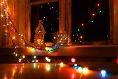 As luzes da celebração Fotografia de Stock