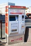 As máquinas automáticas para vendas do bilhete Imagens de Stock
