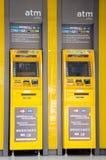 As máquinas do ATM Imagem de Stock