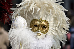 As máscaras de Veneza Fotografia de Stock Royalty Free