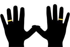 As mãos. Imagem de Stock