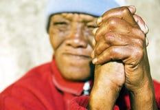As mãos de trabalho duras Foto de Stock Royalty Free