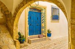 As mansões de Sousse Fotografia de Stock Royalty Free