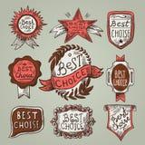 As melhores etiquetas da escolha Fotos de Stock Royalty Free