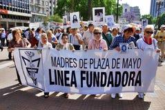 As mães do Plaza de Mayo Imagem de Stock Royalty Free
