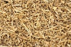 As microplaquetas de madeira pequenas fecham-se acima Fotografia de Stock Royalty Free