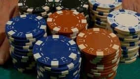As microplaquetas do casino, esta são minha aposta video estoque