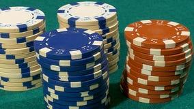 As microplaquetas do casino, esta são minha aposta vídeos de arquivo
