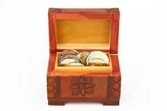 As moedas Fotografia de Stock Royalty Free