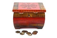 As moedas Imagem de Stock