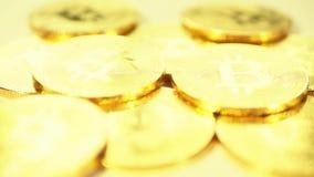 As moedas de ouro são bitcoin Blockchain é a tecnologia do futuro filme