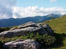 As montanhas Foto de Stock