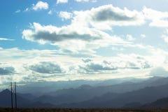 As montanhas Imagem de Stock