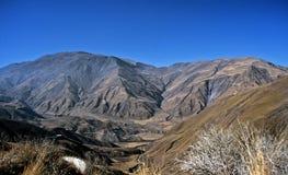 As montanhas aproximam Cachi, Salta, Argentina fotografia de stock royalty free