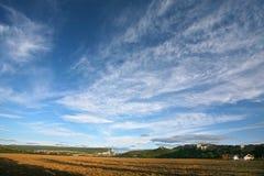 As montanhas aproximam a Chufut-couve Bakhchisaray Crimeia Foto de Stock