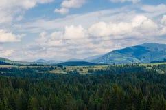 As montanhas Carpathian 23 Fotos de Stock Royalty Free