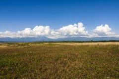 As montanhas da Abkhásia Fotos de Stock Royalty Free