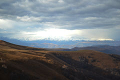 As montanhas de Cáucaso Fotografia de Stock Royalty Free