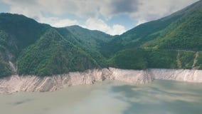 As montanhas de Geórgia podem dentro video estoque