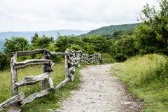 As montanhas de Grayson Highlands são bonitas no verão fotografia de stock