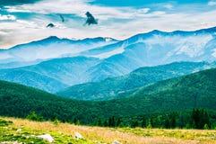 As montanhas de Parang mim Imagem de Stock Royalty Free