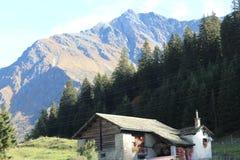 As montanhas de Suíça ajardinam o sommer fotografia de stock royalty free