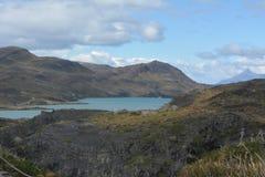As montanhas em Torres del Paine foto de stock royalty free