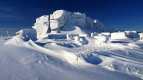 As montanhas gigantes da formação de rocha/Karkonosze Fotografia de Stock