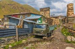 As montanhas maravilhosas de Svaneti, Geórgia foto de stock royalty free