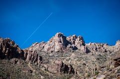 As montanhas que cercam Sabino Canyon Imagens de Stock
