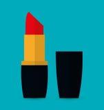 As mulheres compõem e cosméticos Imagens de Stock