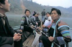 Povos do dong no sudoeste China imagem de stock