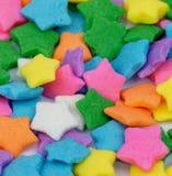 As multi estrelas coloridas polvilham Foto de Stock