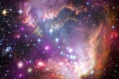 As nebulosa e muitas protagonizam no espaço Elementos desta imagem fornecidos pela NASA fotografia de stock